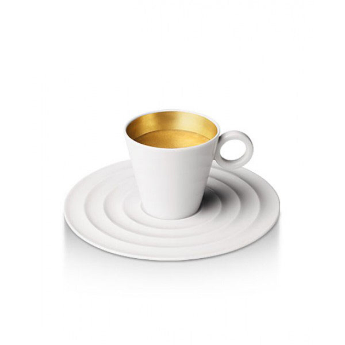 Nespresso чаши Premium Espresso Gold Ring