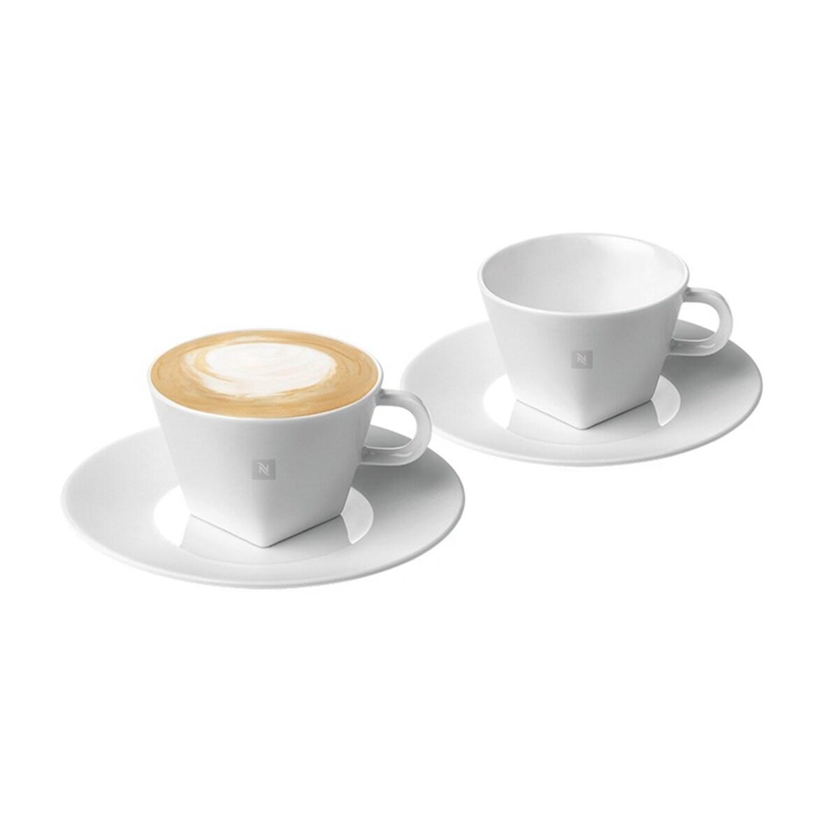 Nespresso Pure Cappuccino Collection - Комплект чаши за капучино, 2 бр