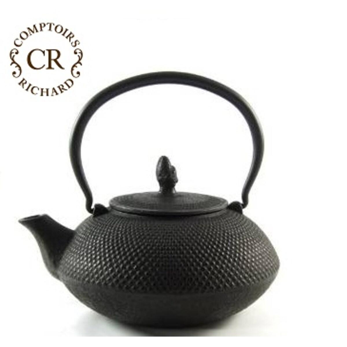 Comptoirs Richard чугунен чайник - черен