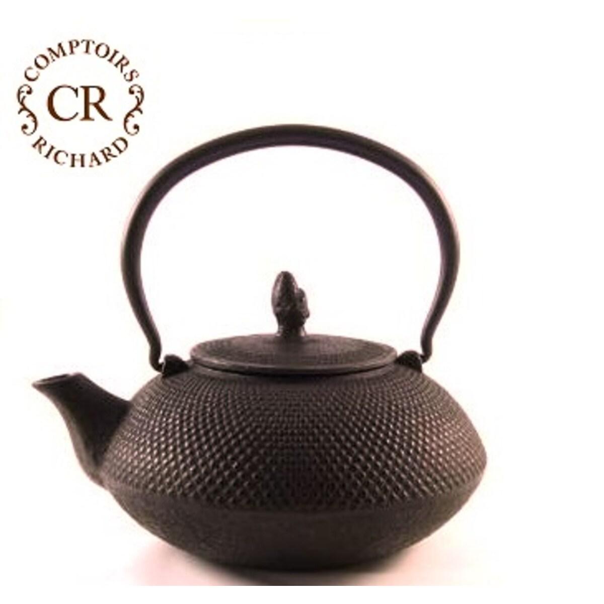 Comptoirs Richard чугунен чайник - кафяв