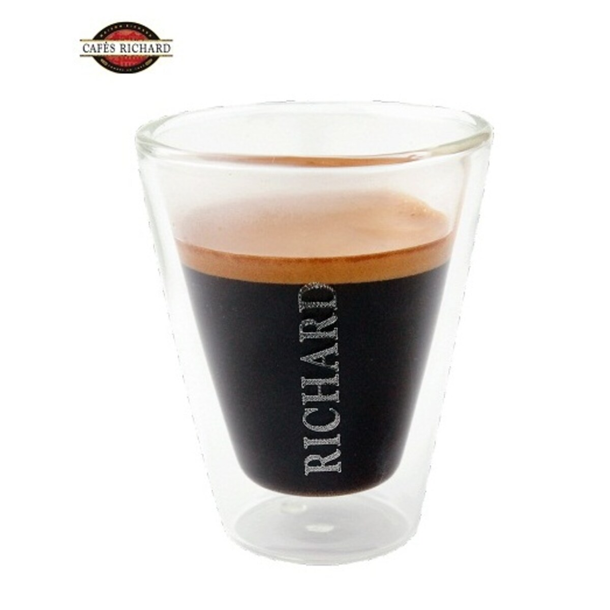 Cafés Richard drink&design - 2 бр двустенни еспресо термо чаши