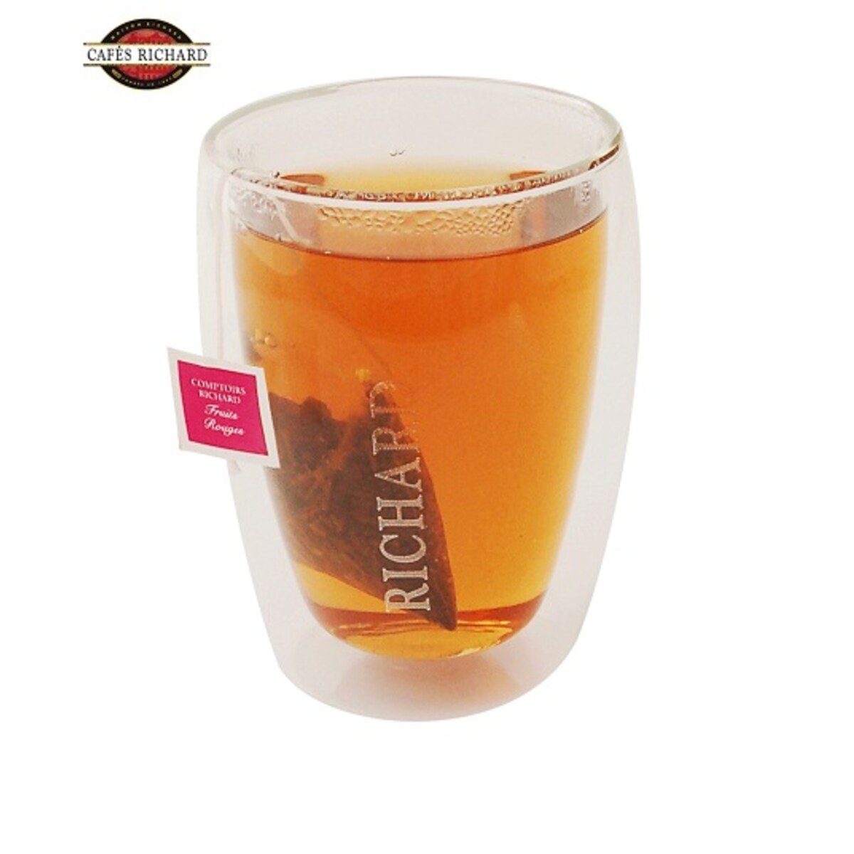 Cafés Richard thermic glass двустенни чаени термо чаши 2бр