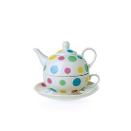 Комплект чаша и чайник SPOTS