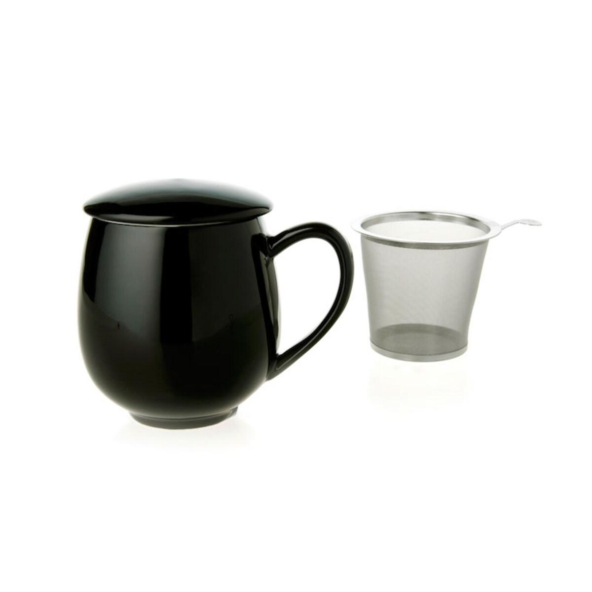 Чаша за чай ZAARA Black 350мл