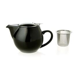 Порцеланов чайник  ZAARA черен 500мл