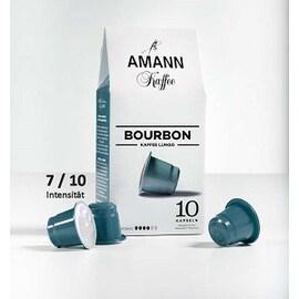 Amann Kaffe Bourbon Nespresso съвместими капсули 10бр