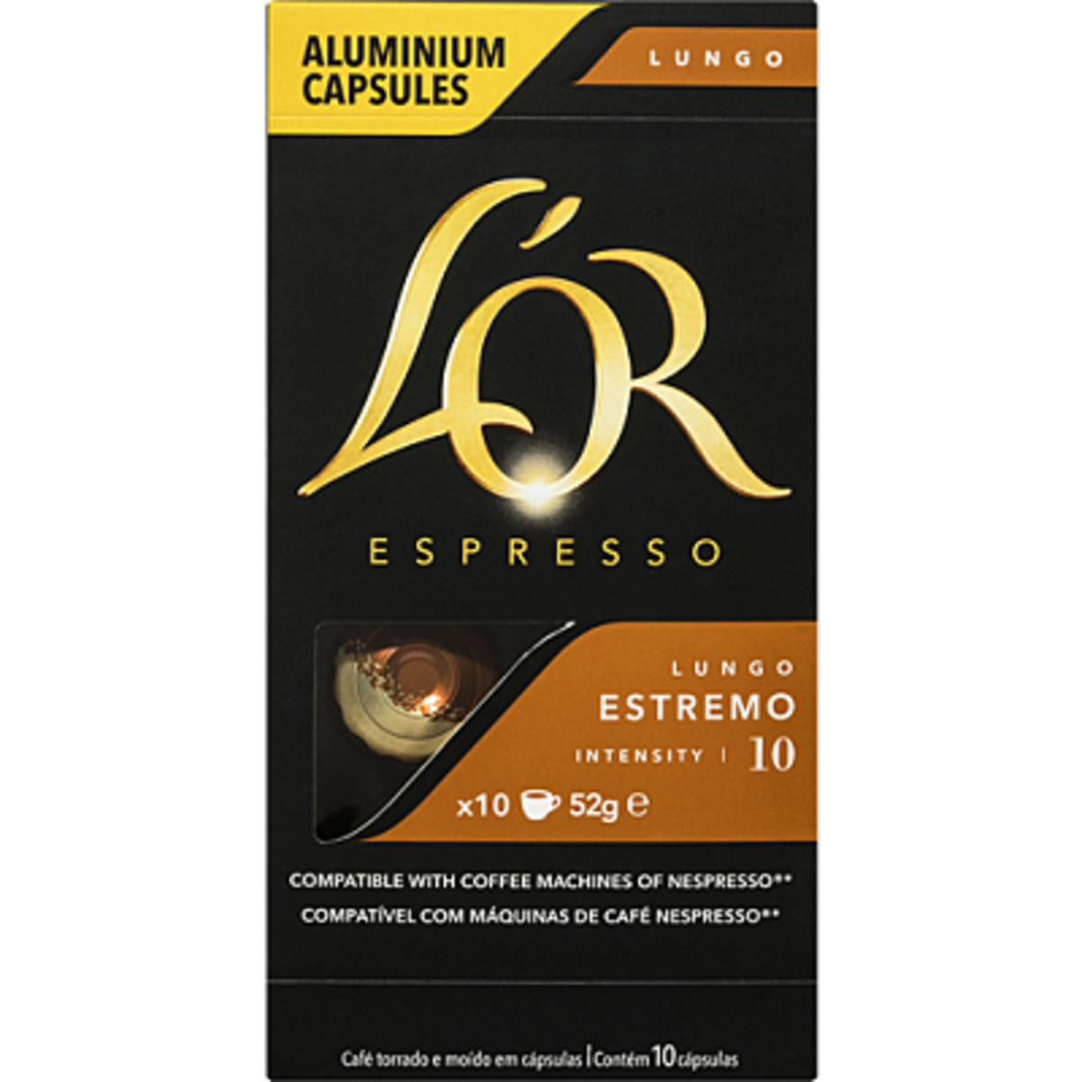 L'Or Lungo Estremo Nespresso съвместими капсули