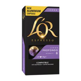L'Or Lungo Profondo Nespresso съвместими капсули