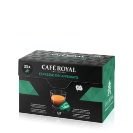 Café Royal Decaffeinato 33бр Nespresso съвместими капсули