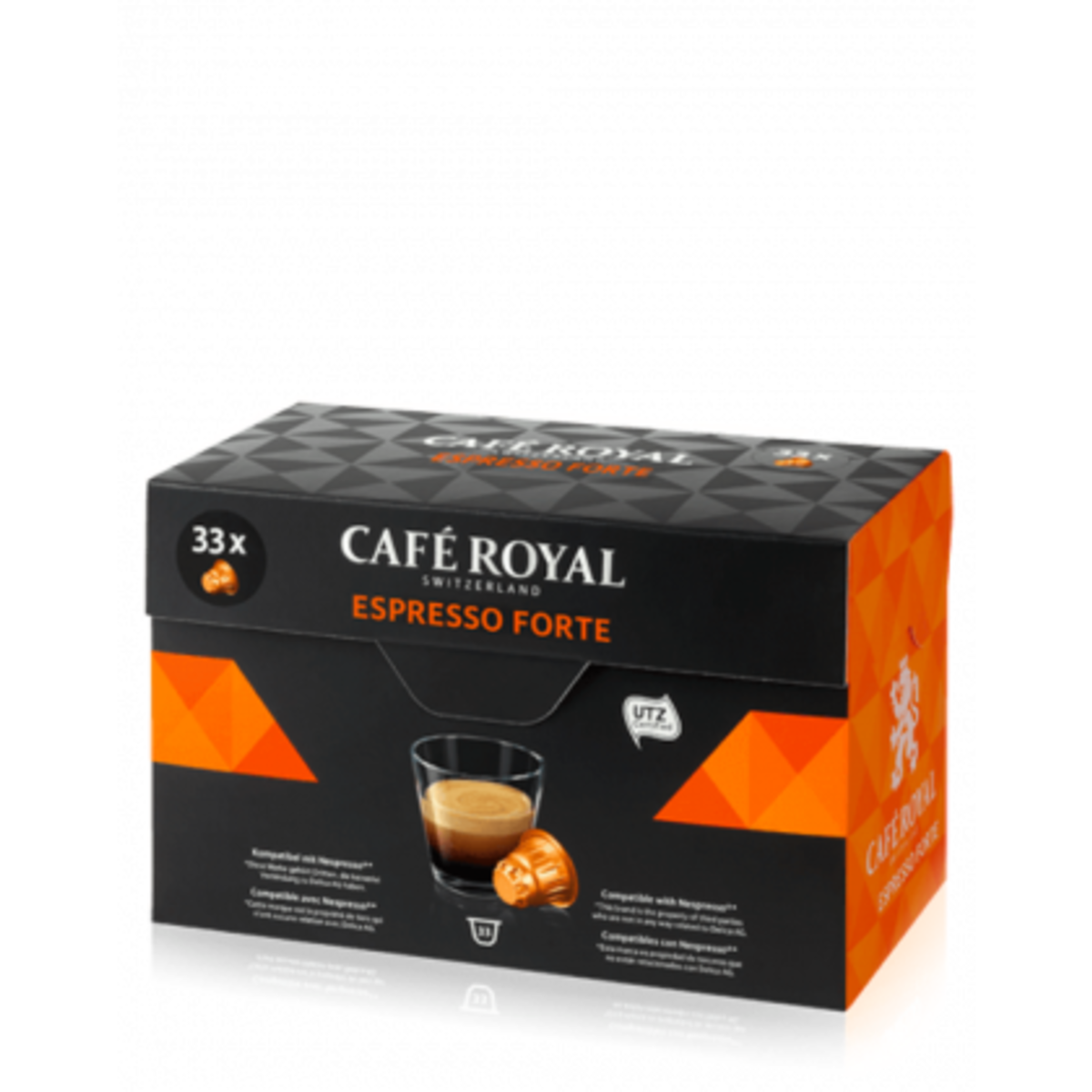 Cafe Royal Espresso Forte 33бр капсули за Nespresso кафемашина