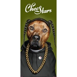 Chocstars RAP черен шоколад 100гр