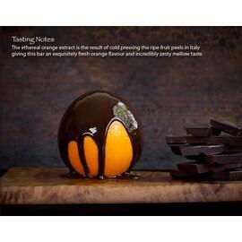 Органичен веган шоколад с портокал 65% какао, 40гр от Chocolate and Love