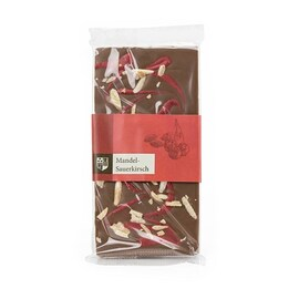 Млечен шоколад с бадеми и вишни Dreimeister 100гр