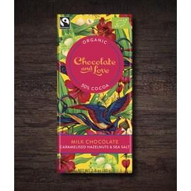 Млечен шоколад , 80гр, 50% какао от Chocolate and Love