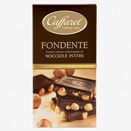 Шоколад Caffarel Fondente Nocciole 150 гр