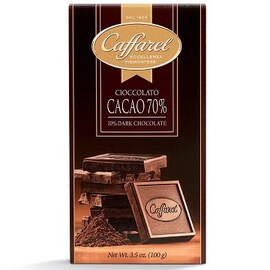 Шоколад Caffarel Cioccolato Cacao 70%