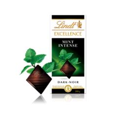 Шоколад Lindt Excellent мента 100гр