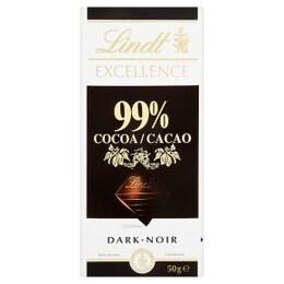 Lindt Excellence черен шоколад 99% 100гр