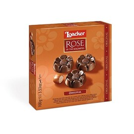 Loacker бонбониера с млечен шоколад 150 гр