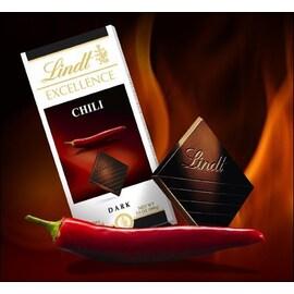Шоколад Lindt Excellence с чили 100гр