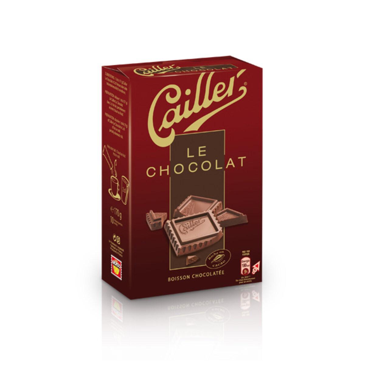 Неспресо течен шоколад - Cailler le chocolat