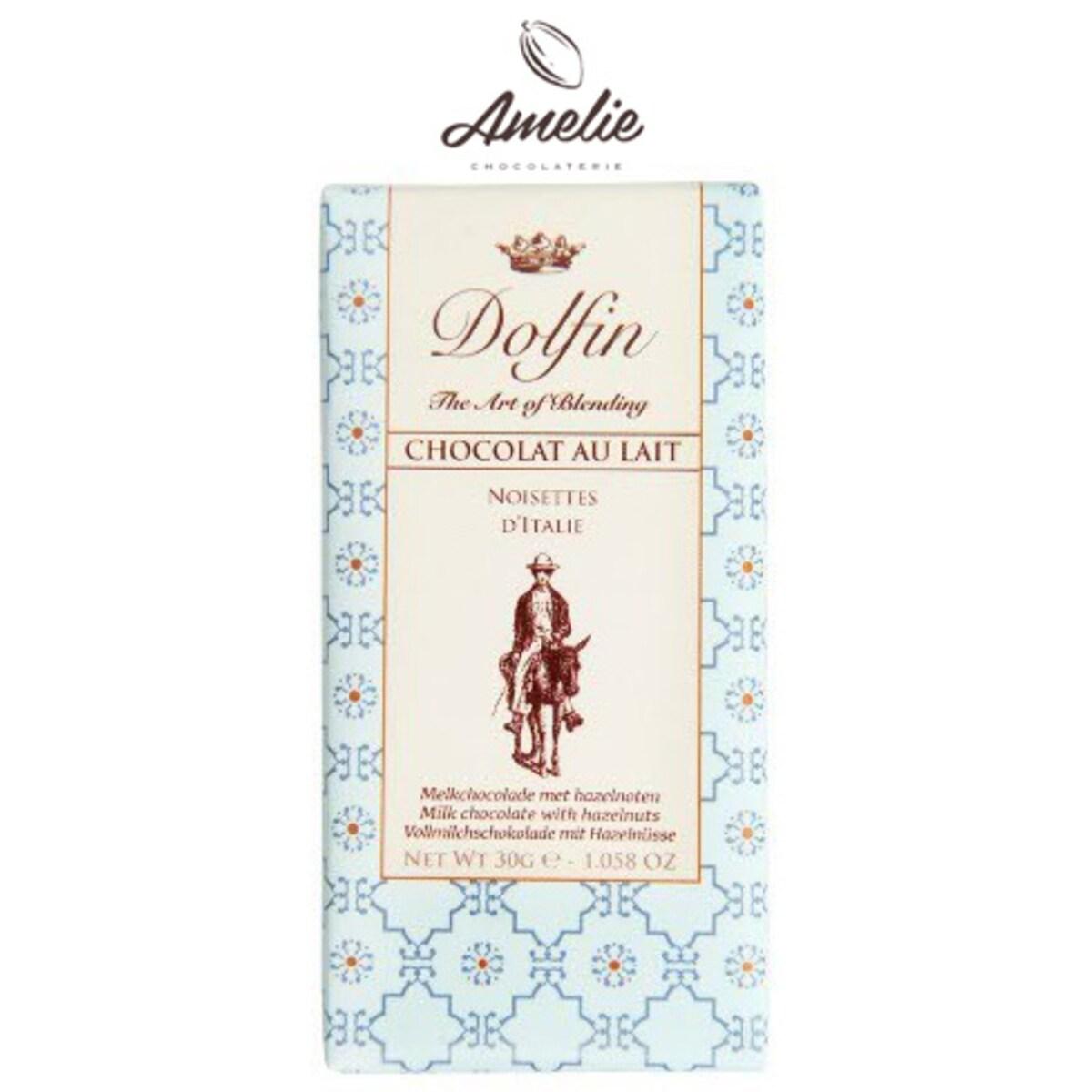 Dolfin Milk with Hazelnuts from Italy