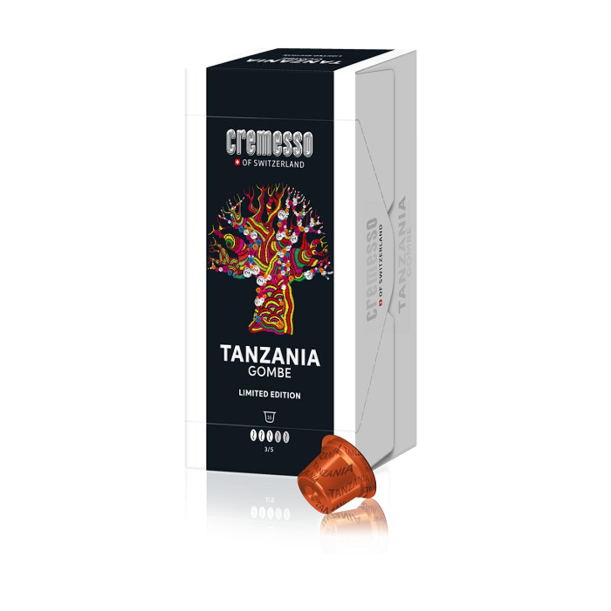 Cremesso Tanzania Gombe 16бр капсули