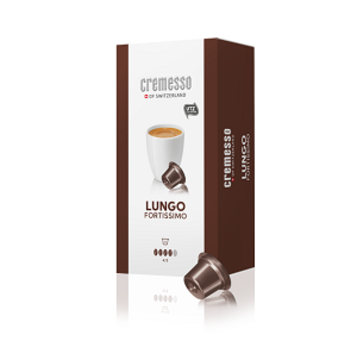 Cremesso Lungo Fortissimo 16бр капсули