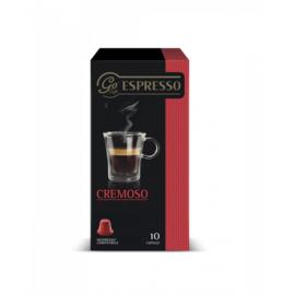 Go Caffe Cremoso 10бр Nespresso съвместими капсули