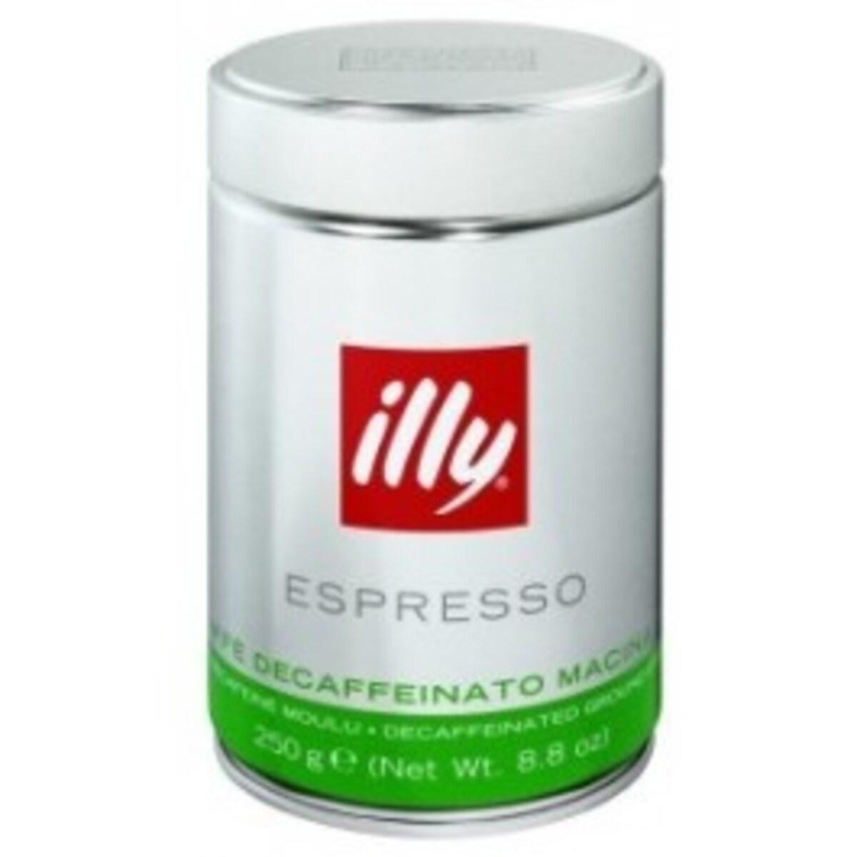 illy Espresso Decaffeinato - мляно кафе 250 гр.