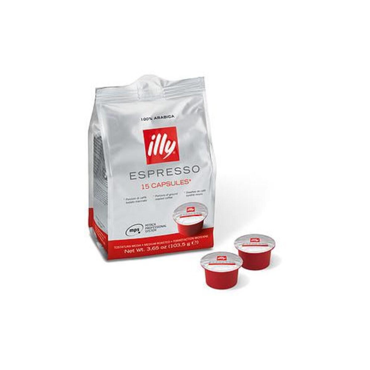 illy Espresso, 15 бр капсули, за illy MPS система