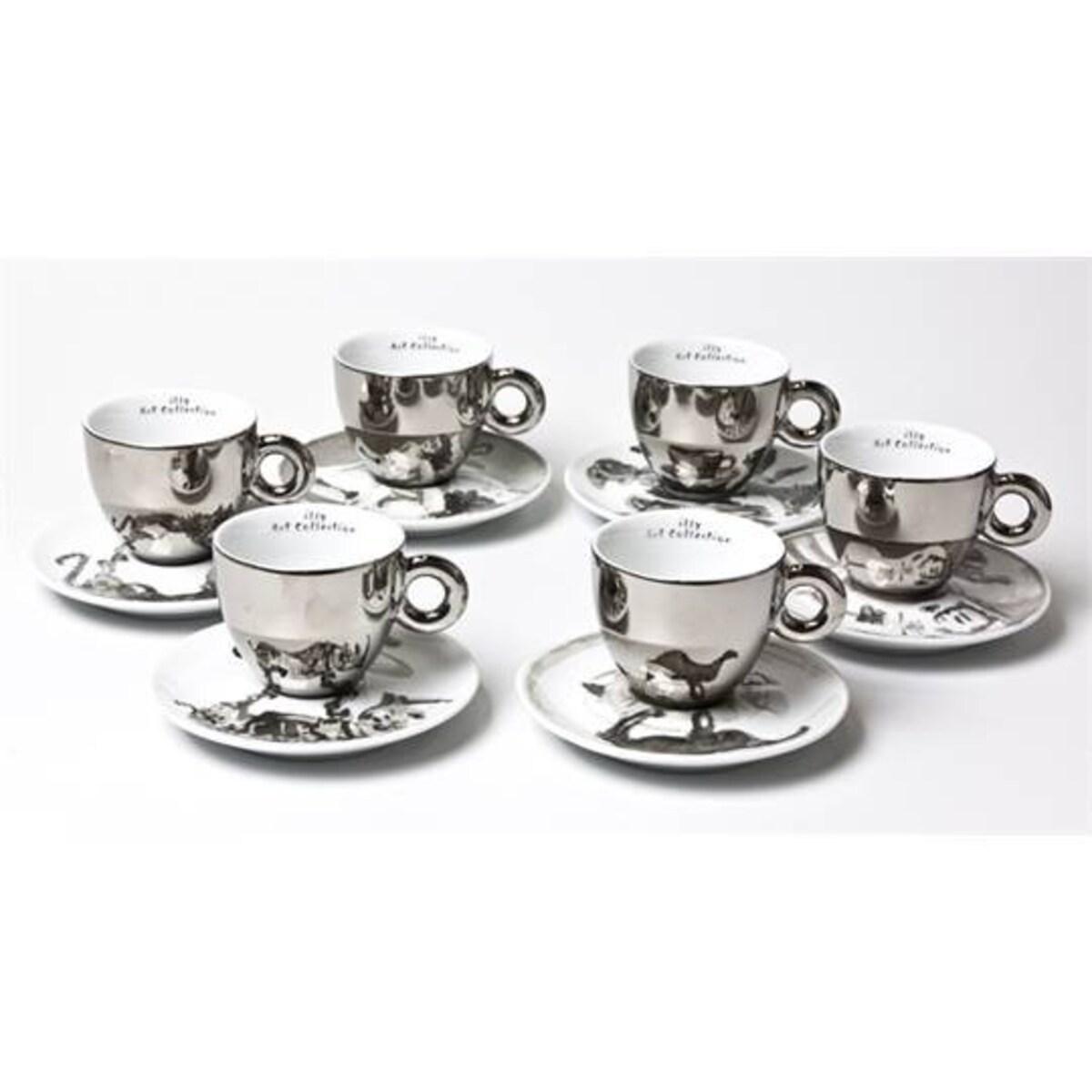 Колекция William Kentridge - 6 дизайнерски капучино чаши