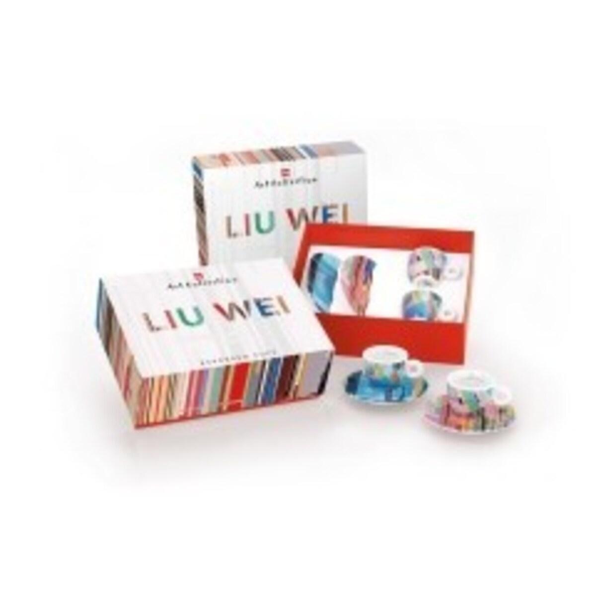 illy колекция  Liu Wei - 6 еспресо чаши