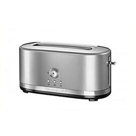 Сребрист тостер KitchenAid с две отделения