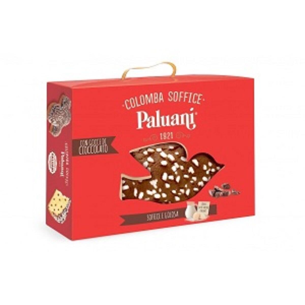 Панетоне Paluani Colomba Con Gocce di Cioccolato италиански козунак 750гр