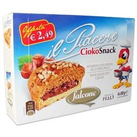 Piacere Cioko Snack бисквити с лешников крем
