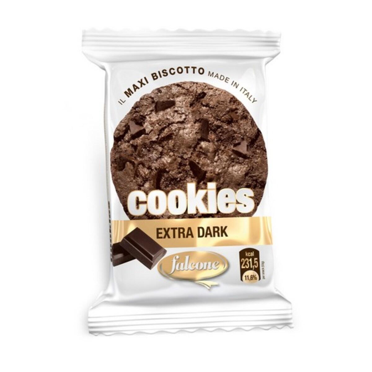 Бисквита с черен шоколад Cookies Extra Dark