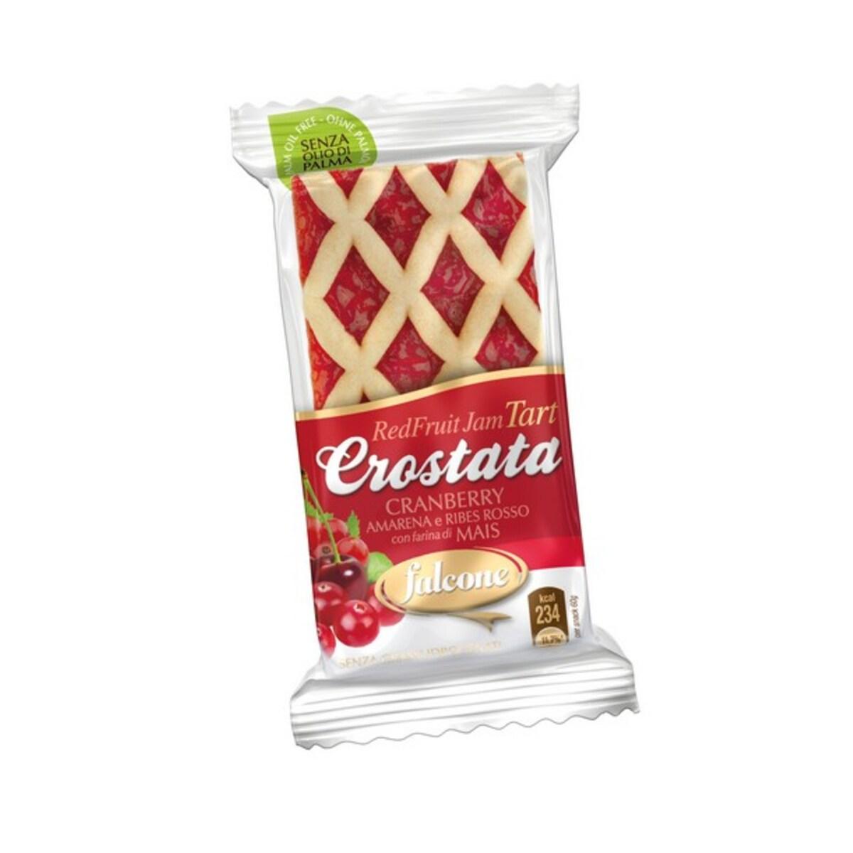 Crostata Cranberry десерт микс от червени плодове