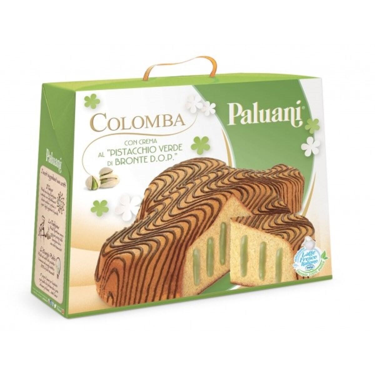 Панетоне Paluani Colomba Con Pistacchio Verde италиански козунак 750гр