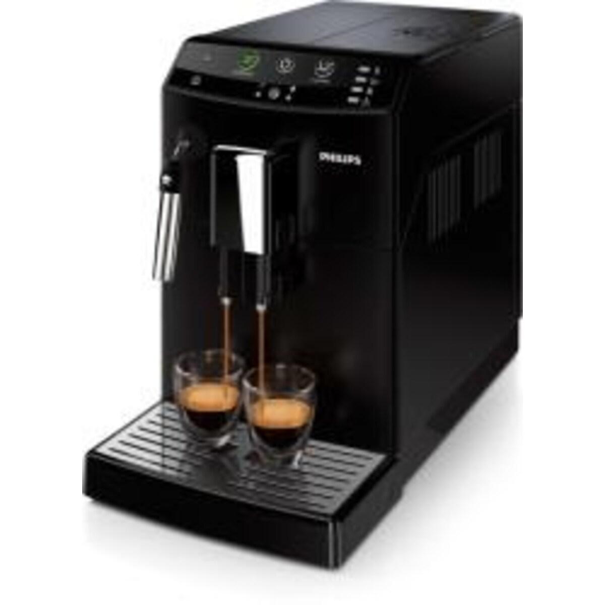 Philips HD8821/09 Автоматична еспресо кафемашина Saeco series 3000 черна кафе робот