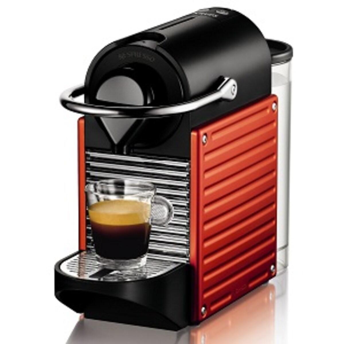 Nespresso Pixie DeLonghi Red