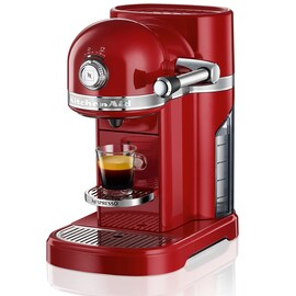 Nespresso Kitchen Aid Empire Red
