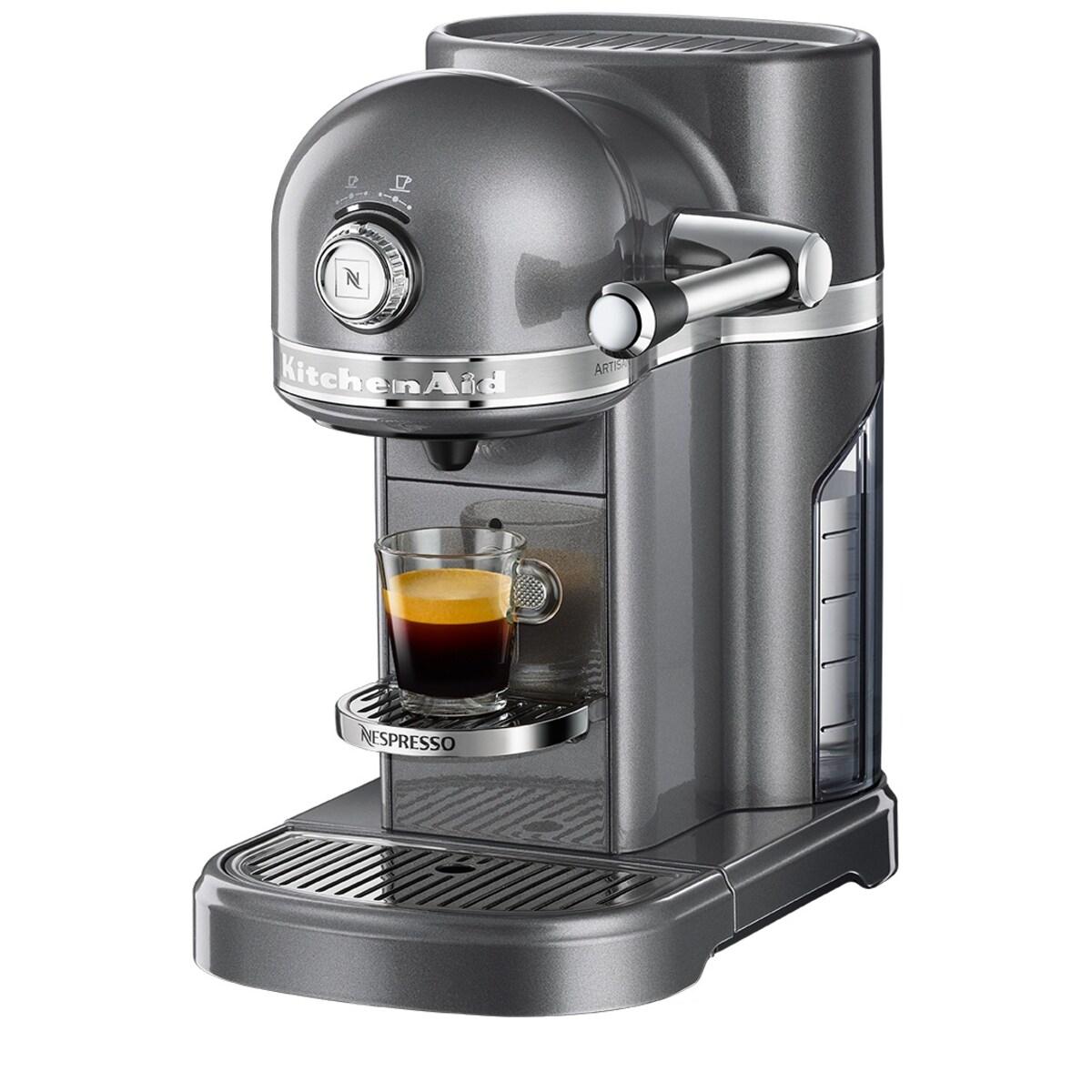 Nespresso Kitchen Aid Medallion Silver
