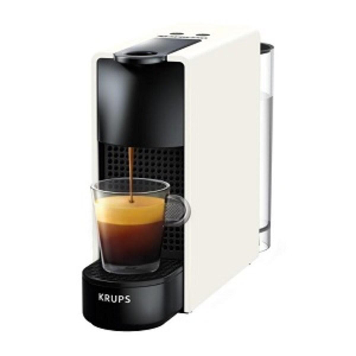 Nespresso Krups Essenza Mini кафемашина бяла + 2 кутии капсули Cafe Royal ПОДАРЪК