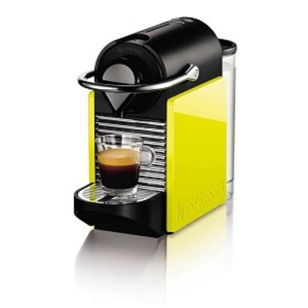 nespresso krups pixie clips lemon neon black xn302099. Black Bedroom Furniture Sets. Home Design Ideas