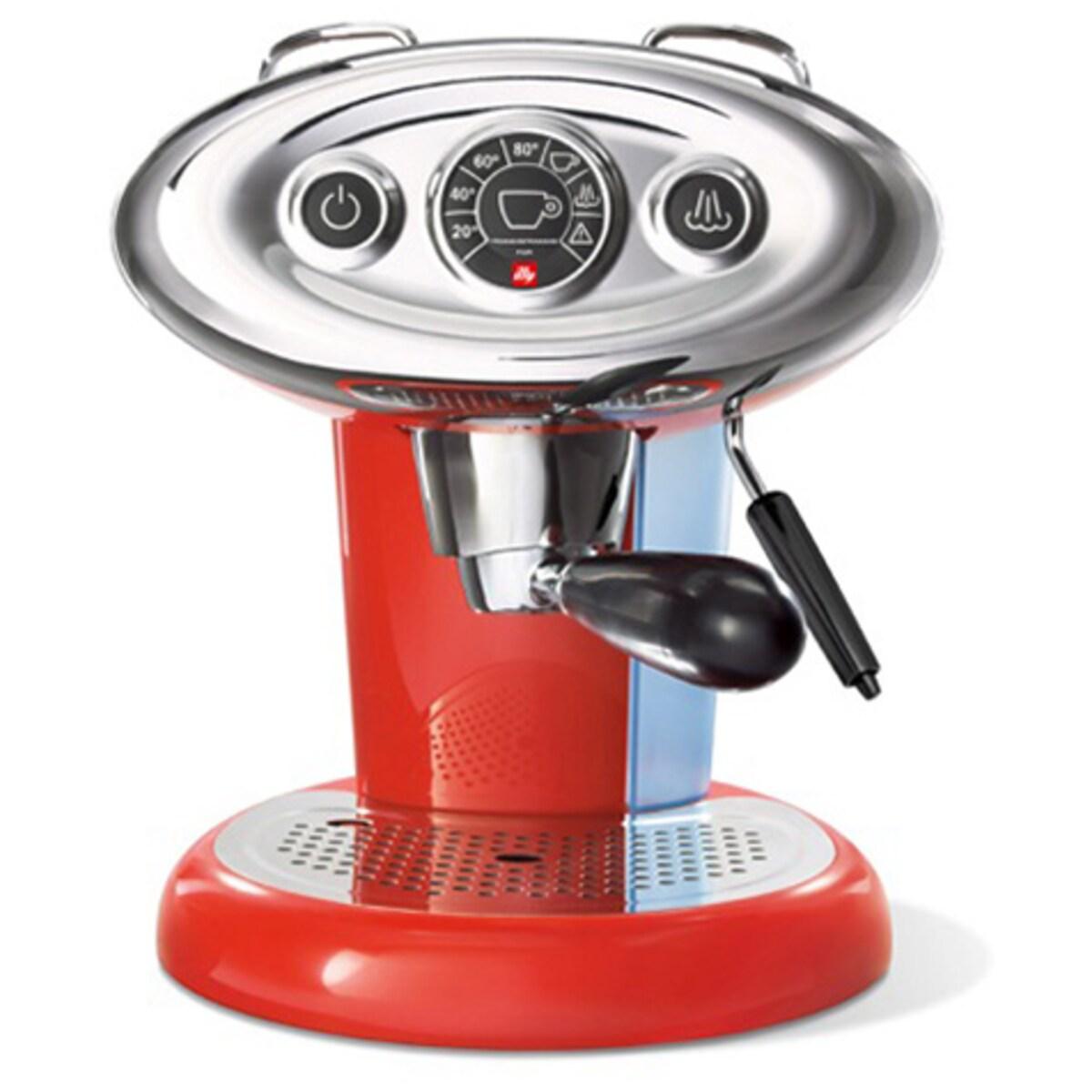 Кафемашина illy Francis Francis X 7.1 - червена, Iperespresso система