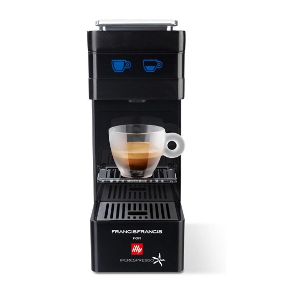 Кафемашина illy Francis Francis Y3 - черна,  Iperespresso система