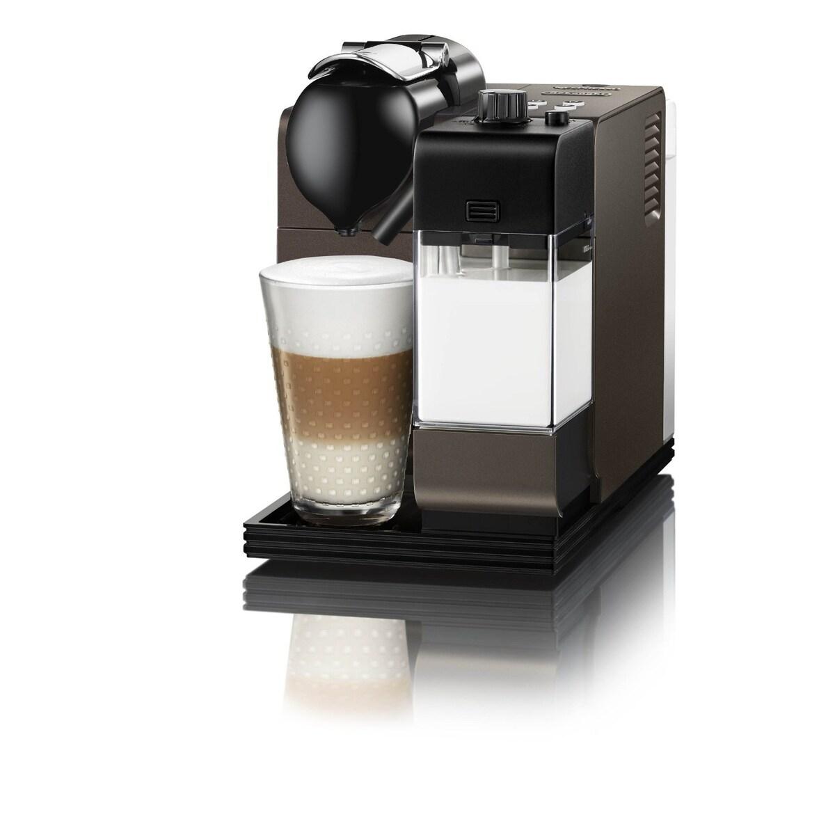 Nespresso Latissima Plus EN520DB + restyle - кафява
