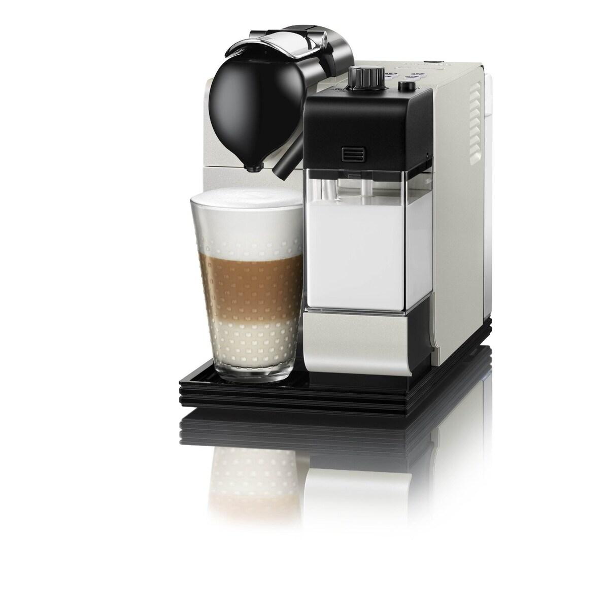 Nespresso Latissima Plus EN520 + restyle - перлено бяла