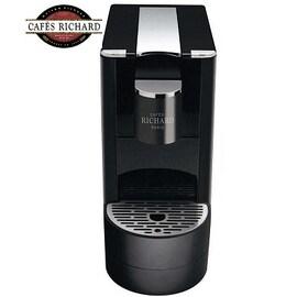 Кафе машина Cafés Richard Ventura - черна